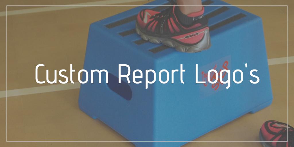 custom report logos